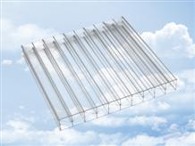 Clear multi-wall polycarbonate