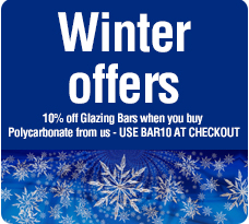 Polycarbonate & Glazing Bars - The Glazing Shop