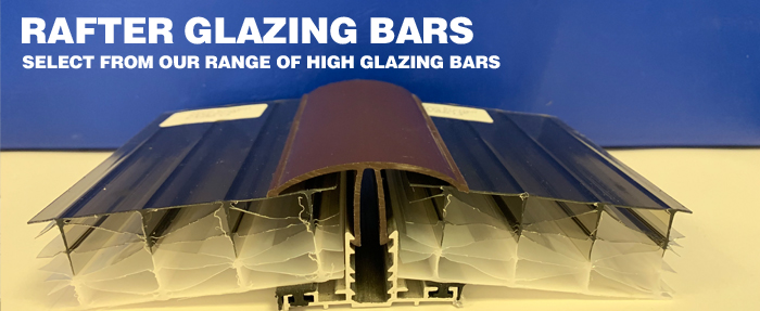 Rafter Glazing Bars - Select from our rage of high quality glazing bars
