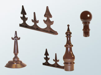 Crestings and Finials