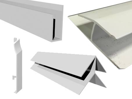 Collection of Cladding trims and accessories images