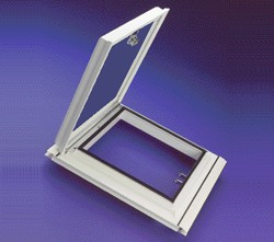 Glass roof vents : Glass conservatory roof ventilation