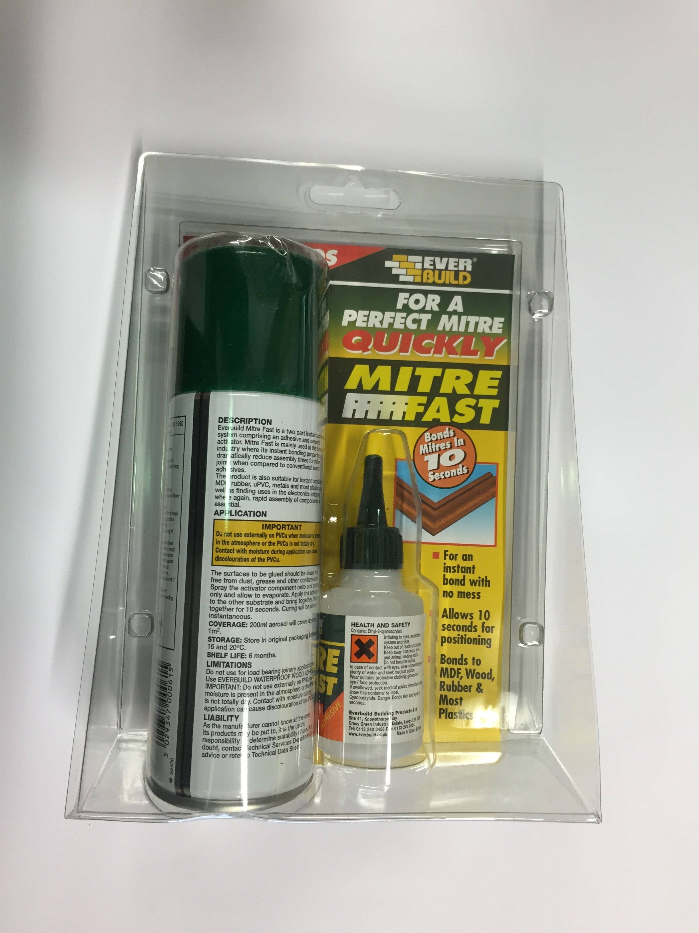 Image of a Mitre fast kit