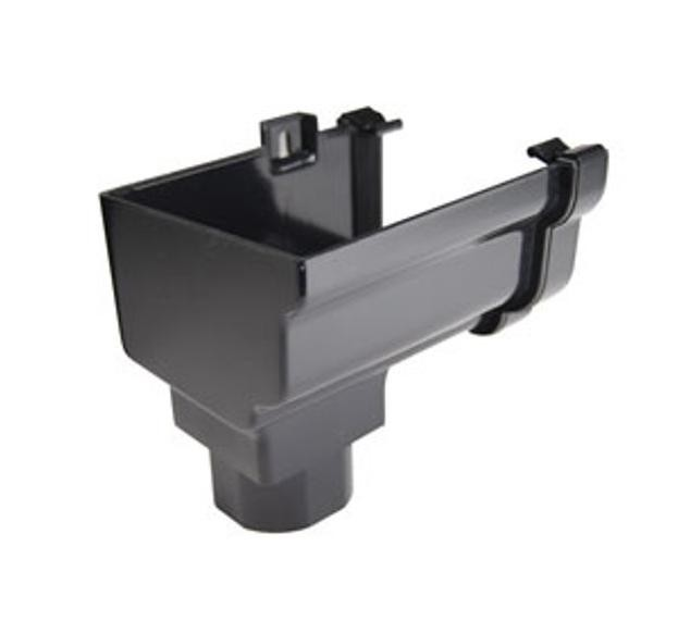 Stopend Outlets L/H Black