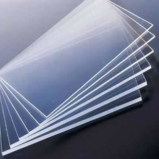 Fan shape of 3mm PET sheets