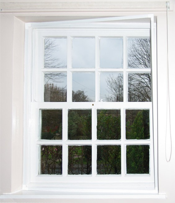 Photo of Ecoease Secondary Glazing on a sash window