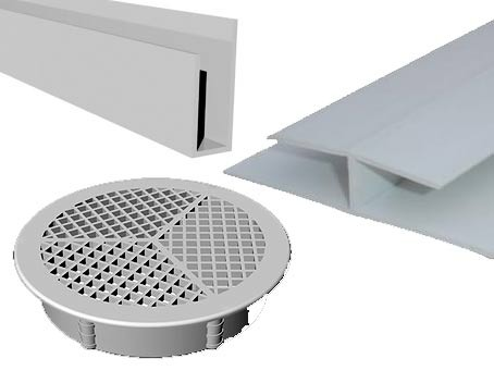A collection  of soffit accessory images