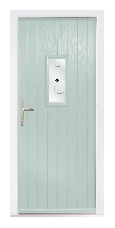 Chartwell green composite door - The Speedwell