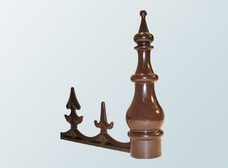 Aluminium Cresting and Finial