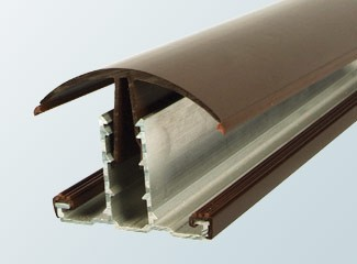 Rafter Hip bar for polycarbonate roof