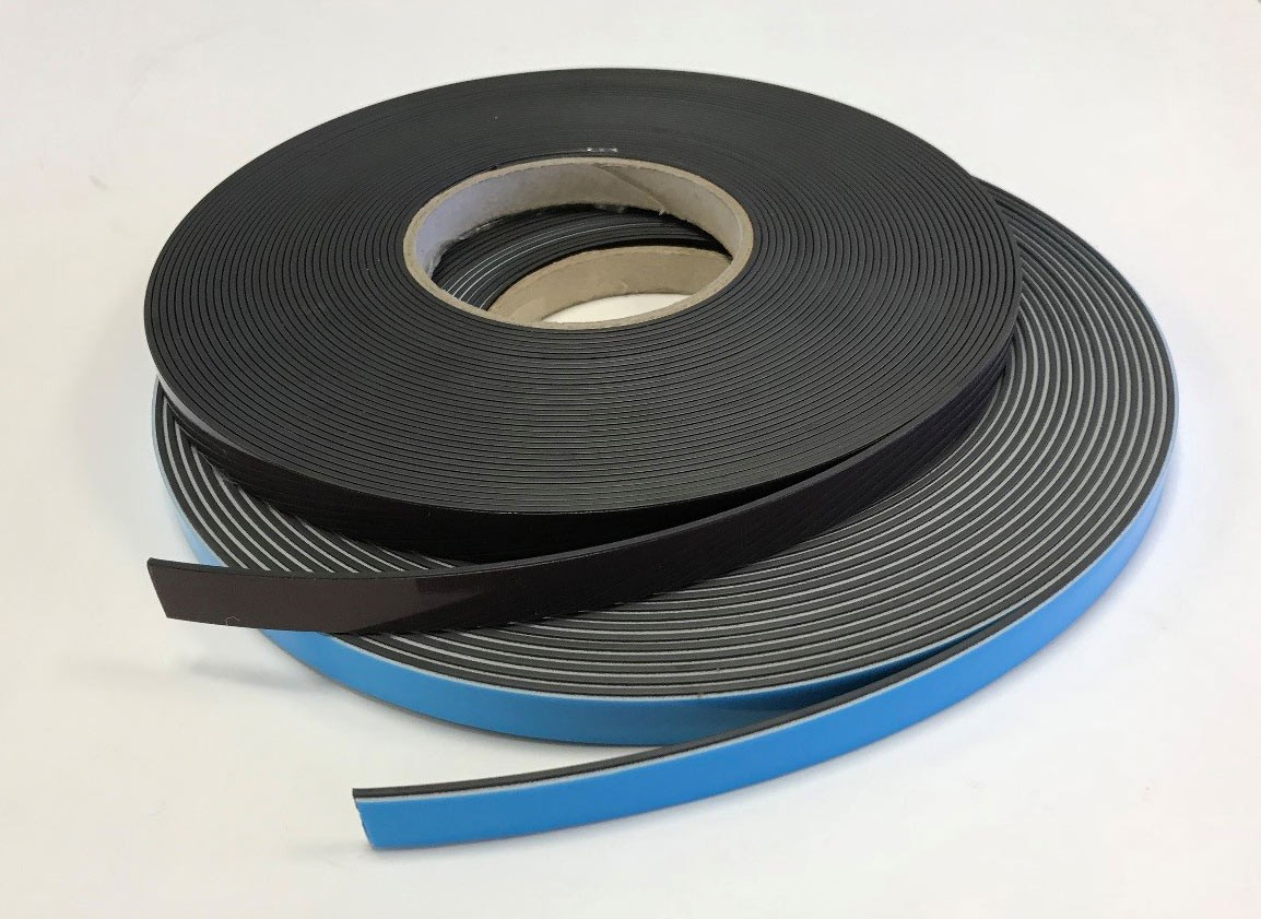 Brown magnetic glazing tape