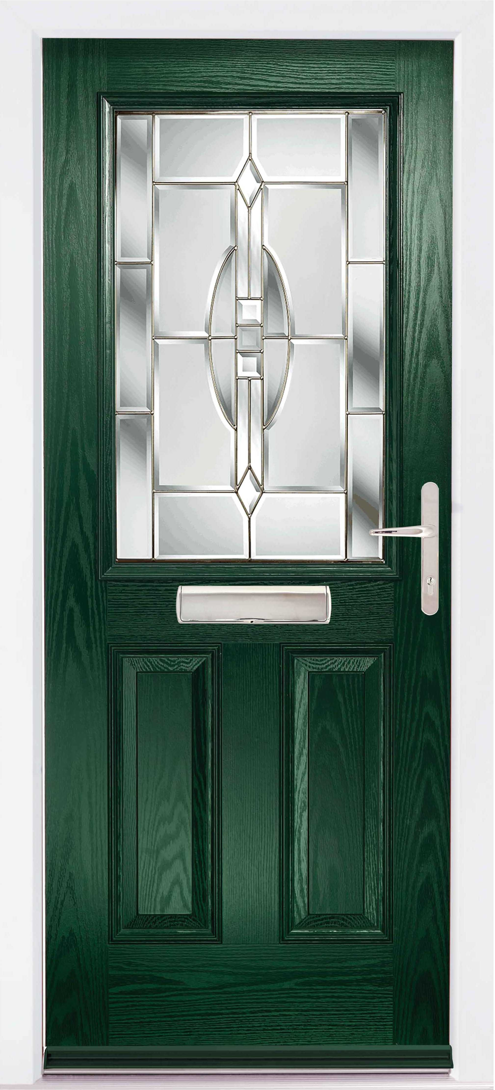 The Lathkill Composite door in Green