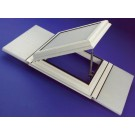 Polycarbonate roof vent for a conservatory roof