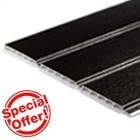Black Hollow Soffit - 10mm thickness (5m)