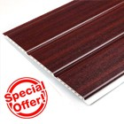 Mahogany Hollow Soffit - 10mm thickness (5m)