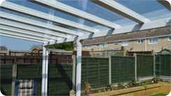 NEW Elegance Glass Roof Canopy
