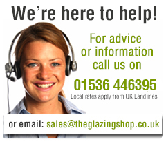 Help or advice link showing Telephone number 01536 446395 and containing link to our contact us by email page