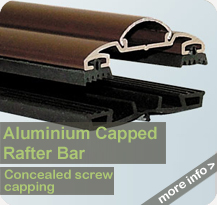 Glazing Shop - Aluminium Capped Rafter Bar
