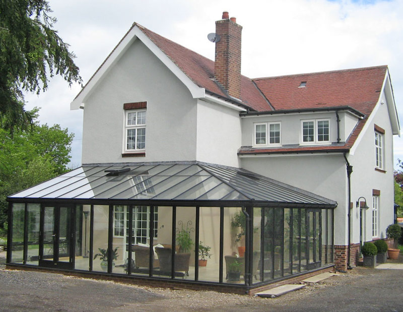 lean to conservatory roof. Black Bedroom Furniture Sets. Home Design Ideas